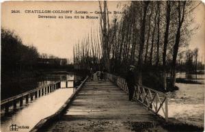 CPA CHATILLON-COLIGNY Canal de Briare Déversoir au lieu dit la Ronce (607465)