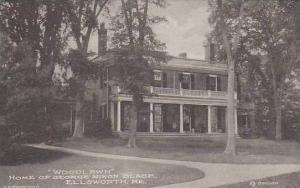 Maine Ellsworth Home Of George Nixon Black Artvue