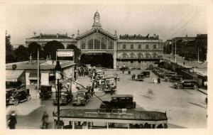 France - Amiens. La Gare    *RPPC