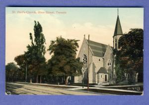 Toronto, Ontario, Canada Postcard, St Paul's Church,Bloor St