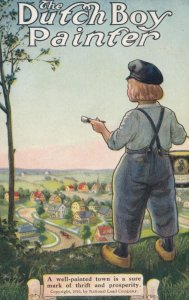The Dutch Boy Painter , 00-10s ; National Lead Company : #1