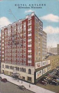 Hotel Antlers Milwaukee Wisconsin 1943