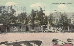 PAW PAW LAKE , Michigan, 1913 ; Hennessey's