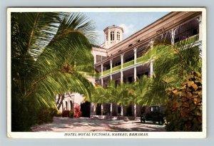 Hotel Royal Victoria, Nassau Bahamas Vintage Postcard