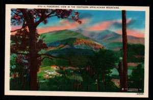 Panoramic View in Southern Appalachian Mountains, Unused