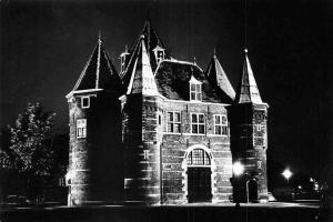 Netherlands Verlicht Amsterdam, Waaggebouw Night view