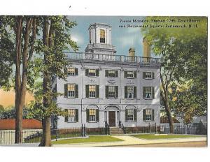 Pierce Mansion Erected 1799 Court Street Portsmouth New Hampshire