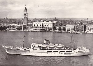 RP: VENICE , Italy , 1966 ; Ocean Liner ADRIATICA