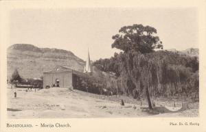 Basutoland (now LESOTHO), 20-30s;  Morija Church
