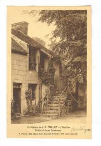 Studio House Of The Painter J.-F. Millet, Barbizon (Seine-et-Marne), France, ...