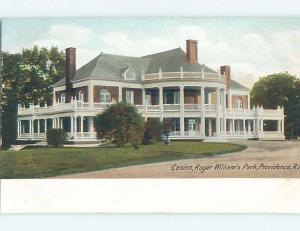 Pre-1907 PARK SCENE Providence Rhode Island RI hp9879