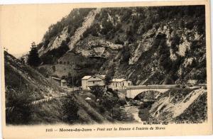 CPA MOREZ - Pont sur la Bienne a l'entrée de MOREZ (212033)