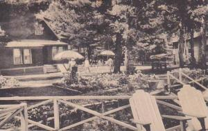 Maine East Sebago East Section Of Grounds West Shore Hotel And Cottages 1956 ...