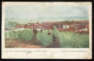 h2275 - HALIFAX NS Postcard 1905 Entrance to Harbor by MacFarlane