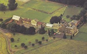 Knuston Hall Cambridge Stunning Aerial Birds Eye 1970s Postcard