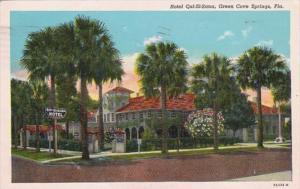 Florida Green Cove Springs Hotel Qui-Si-Sana 1946 Curteich