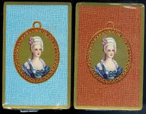 Early American Lady Playing Cards 1940's (2) SEALED DECKS