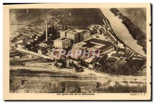 Old Postcard Brasserie Champigneulles Meurthe et Moselle External view of the...