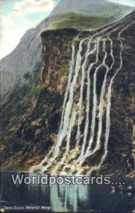 Norway, Norwegian, Norge, Norske Seven Sisters Waterfall