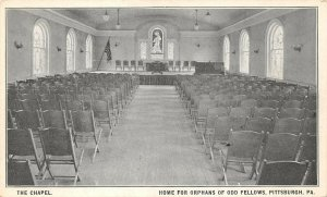 LPS47 Pittsburgh Pennsylvania Odd Fellow Orphan Home Chapel Private Mailing Card