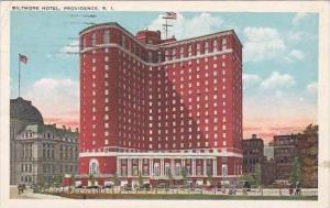 Rhode Island Providence Biltmore Hotel 1924