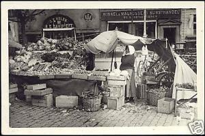 Scandinavian Market Woman, Winkel & Magnussens 30s RPPC
