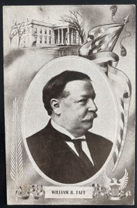 Mint USA Real Picture Postcard Political William H Taft