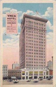 Illinois Chicago Y W C A Hotel Curteich