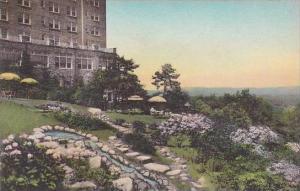 Pennsylvania Pocono Manor Terrace Garden Pocono Manor Inn Albertype