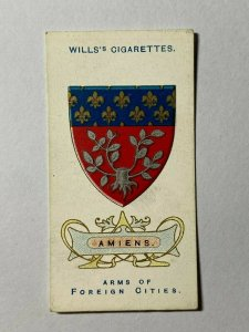 CIGARETTE CARD - WILLS FOREIGN CITIES #07 AMIENS   (UU193)