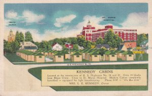 ROCHESTER, Minnesota, 1930-1940's; Kennedy Cabins, St. Mary's Hospital, Mayo ...