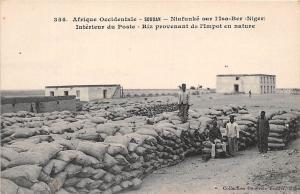 Mali Soudan Niafunke Isa-Ber (Niger) Interieur du Poste, Riz, nature, rice