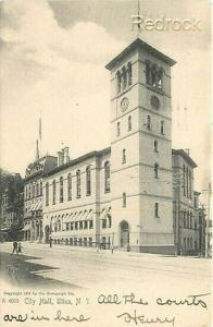 NY, Utica, New York, City Hall, Rotograph No. A 4069