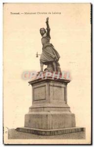 Old Postcard Tournai Monument Chrisstine Lalaing