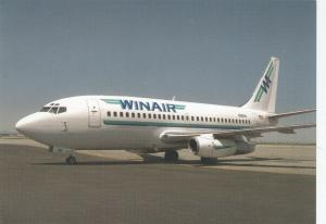 WINAIR Boeing 737 Jet Airplane, Salt Lake City , Utah , 80-90s