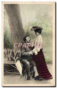 Old Postcard Fantaisie