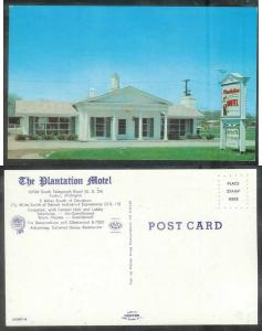 Michigan, Taylor, Plantation Motel, unused