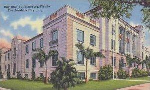 Florida St Petersburg City Hall The Sunshine City
