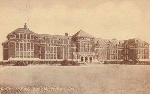 PORTLAND , Oregon , 1900-1910's; Jefferson High School