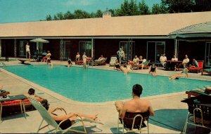 Virginia Hampton The Hampton Manor Motel Swimming Pool