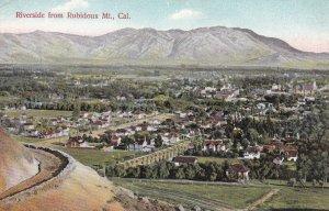 RIVERSIDE, California, 1900-1910s; Riverside From Rubidoux Mt.