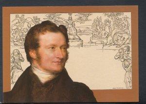 Postal History Postcard - Mulready Stationery / William Mulready, Museum T7541