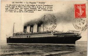 CPA Le Paquebot Paris, SHIPS (762752)