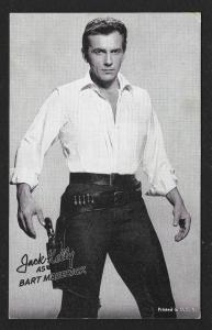 ARCADE CARD Cowboy Entertainer Jack Kelly