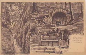 2Views, Elisabethen- Brunnen, Eisenach (Thuringia), Germany, 1900-1910s