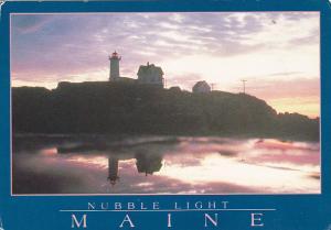 Nubble Lighthouse Betweeen York Beach and Ogunquit Maine