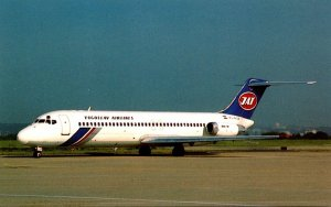YAT Yugoaslav Airlines McDonnell Douglas DC-9-32 At Orly Airport Paris