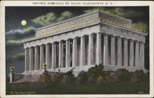Lincoln Memorial by night Washington DC