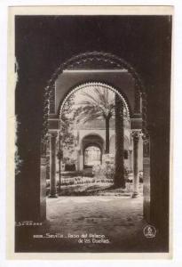 RP, Patio Del Palacio De Las Duenas, Sevilla (Andalucia) Spain, 20-40s