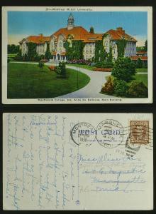 Montreal Macdonald college to Marquette MI fwd Flint 1938